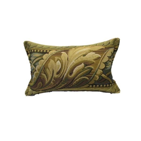 Corona Decor Acanthus Design Decorative Pillow