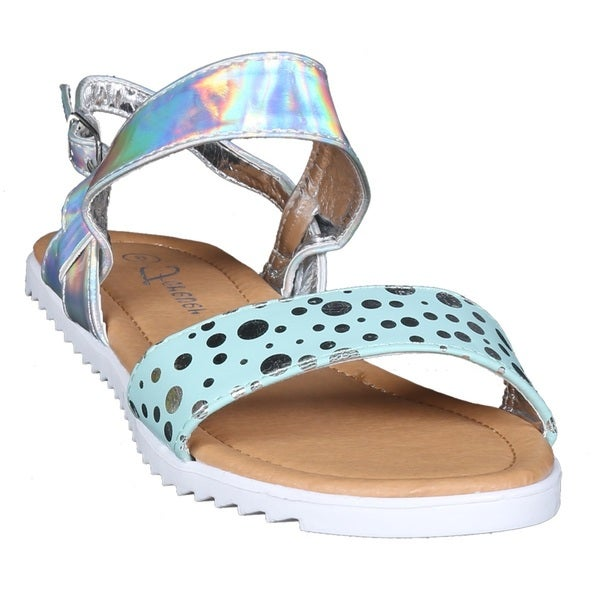 Coshare Kid's Forever Judy-91K Spotted Design Sandals