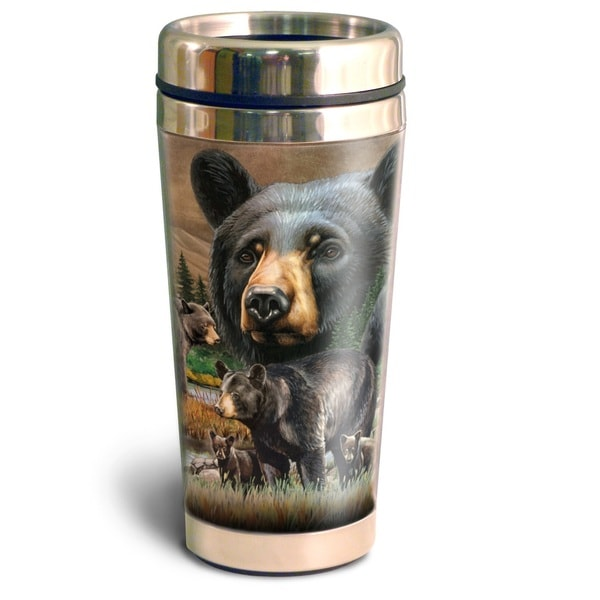 American Expedition Wildlife Collectio 16oz Steel Travel Mug