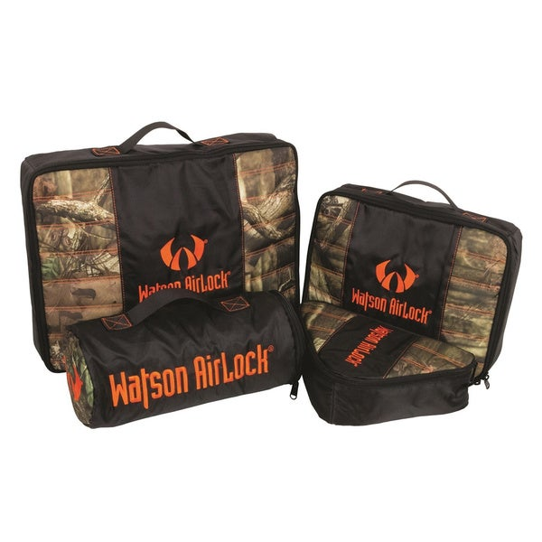 Watson Airlock Geo-Pak 4-piece Set Orange/ Mossy Oak