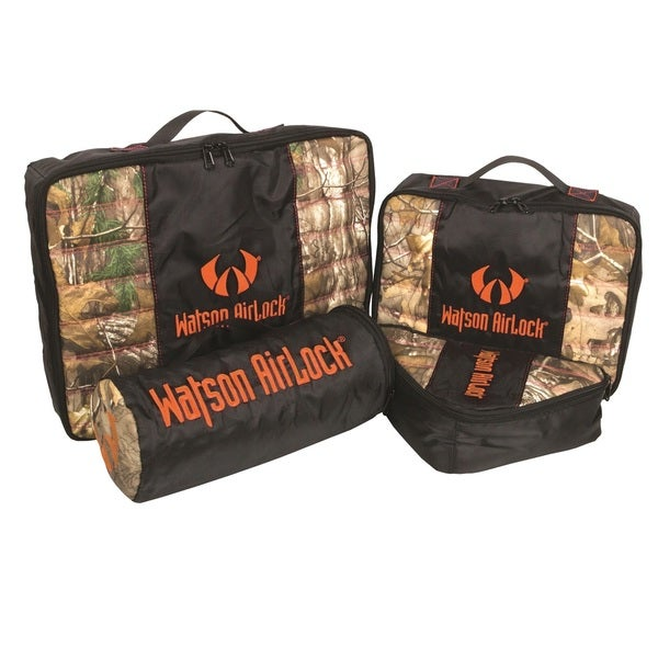Watson Airlock Geo-Pak 4-piece Set Orange/ Realtree Xtra