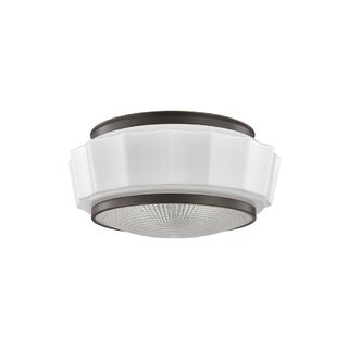 Hudson Valley Odessa 2-light Bronze Flush Mount