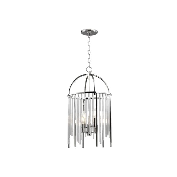 Hudson Valley Lewis 4-light Nickel Pendant