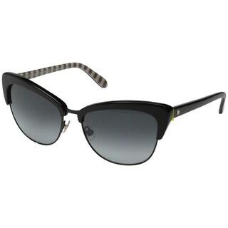 Kate Spade Women's Genette/S Grey Metal Cat Eye Sunglasses