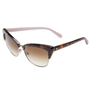 Kate Spade Women's Genette/S Brown Metal Cat Eye Sunglasses