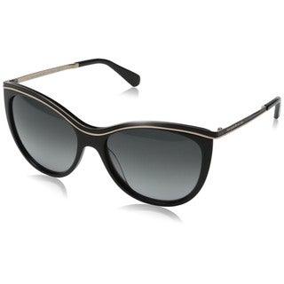 Kate Spade Women's Harmony/S Grey Plastic Cat Eye Sunglasses