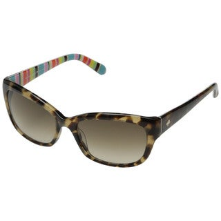 Kate Spade Women's Johanna/S Plastic Pillow Sunglasses
