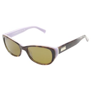 Kate Spade Women's Keara/P/S Brown Plastic Oval Sunglasses