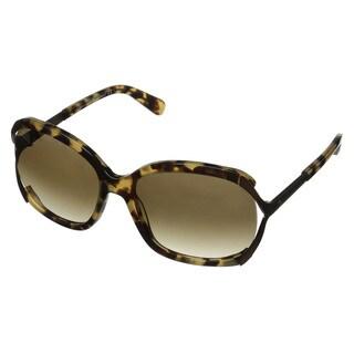 Kate Spade Women's Laurie/S Tortoise Plastic Pillow Sunglasses