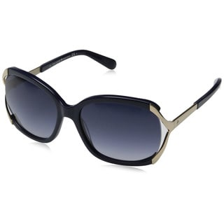 Kate Spade Women's Laurie/S Navy Plastic Pillow Sunglasses