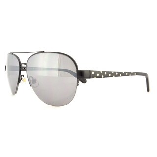 Kate Spade Women's Marion/S Grey/ Silver Metal Aviator Sunglasses