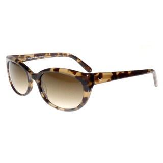 Kate Spade Women's Phyllis/S Brown Plastic Cat Eye Sunglasses