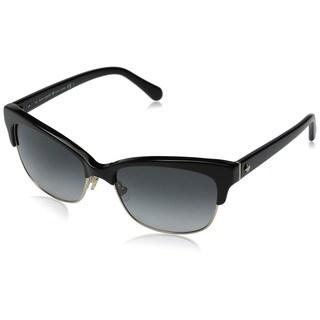 Kate Spade Women's Shira/S Grey Metal Cat Eye Sunglasses