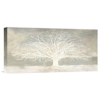 Porch & Den 'White Tree' Stretched Canvas Artwork