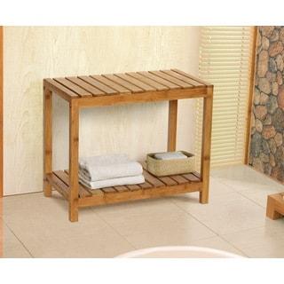 Bamboo Natural Spa Bench
