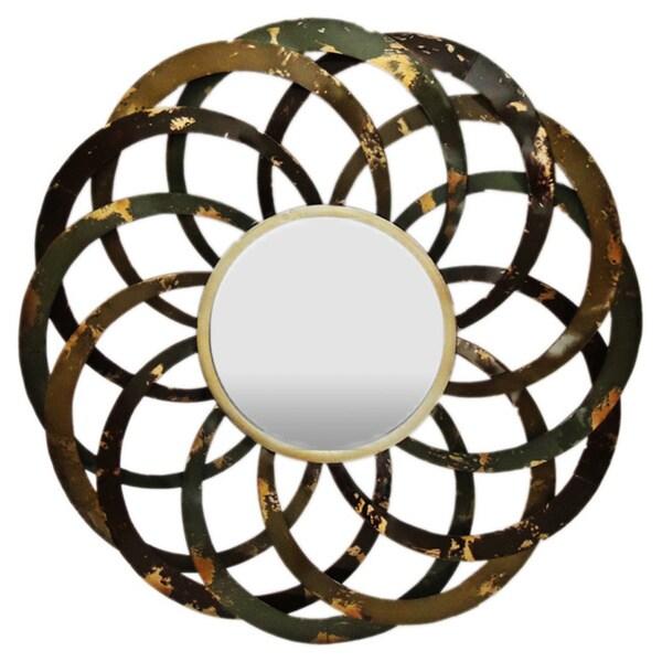 Gallerie D 233 Cor Circles Metal Wall Mirror 17270184