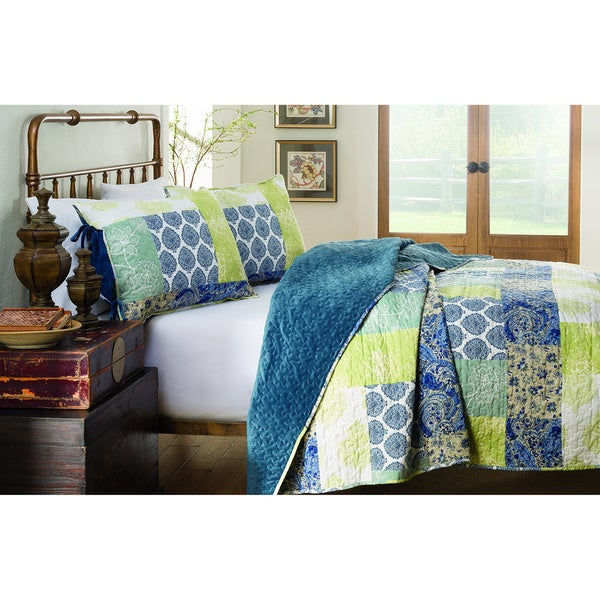 214 West Velvet Becca 3-piece Quilt Set