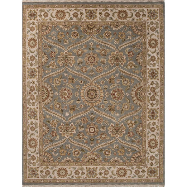 Hand-Knotted Classic Oriental Pattern Monument/ Pumice stone (8' x 10') Area Rug
