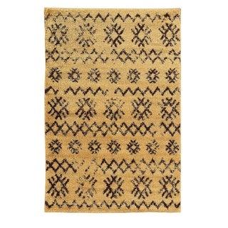 Oh! Home Moroccan Mekenes Camel/Brown Rug (3' x 5')