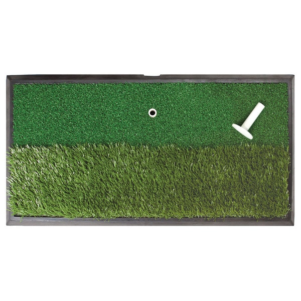 Orlimar Golf Real Strike Practice Hitting Dual Rough/ Fairway Mat