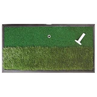 Orlimar Golf Real Strike Practice Hitting Dual Rough/ Fairway Mat