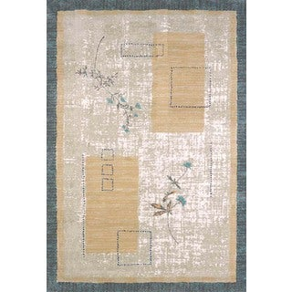 "Tranquility Sea Wisp Area Rug (5'3"" x 7'2"")"