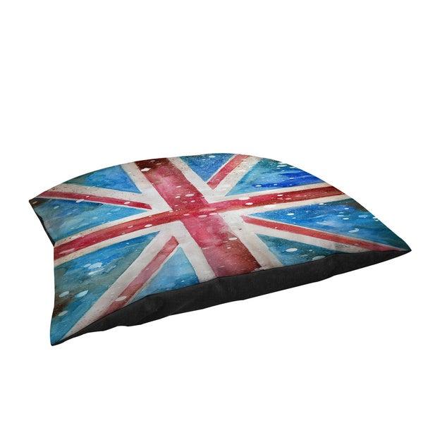 Thumbprintz Union Jack Fleece Pet Bed