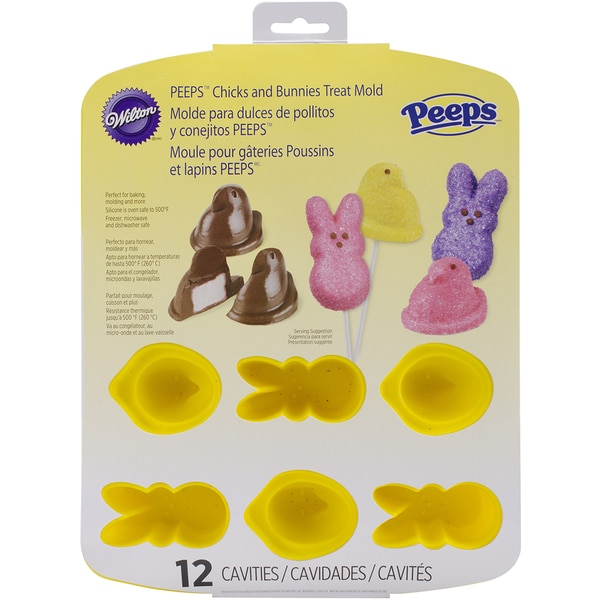 Silicone PanPeeps 12 Cavity