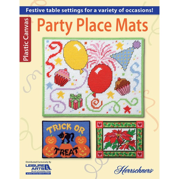 Leisure ArtsParty Place Mats