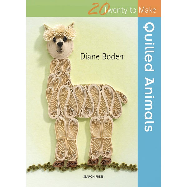 Search Press BooksTwenty To Make Quilled Animals