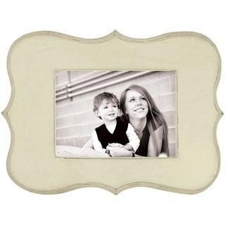 We R Decorative Wooden Frame 12.5inX9in (7inX5in Photo)Cream