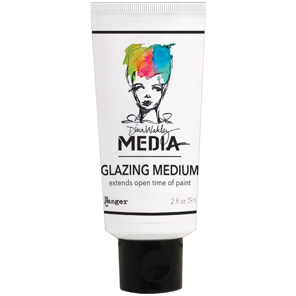 Dina Wakley Media Glazing Medium 2oz Tube