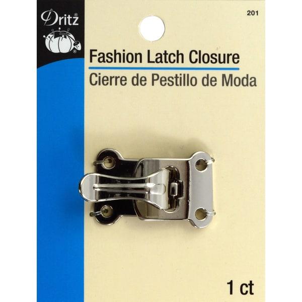 Fashion Latch ClosureSilver