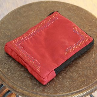 Handcrafted Embellished 'Ruby' iPad Sleeve (India)