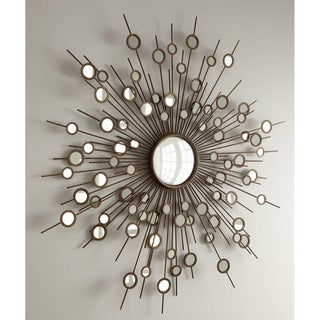 Goring Contemporary Round Accent Wall Mirror