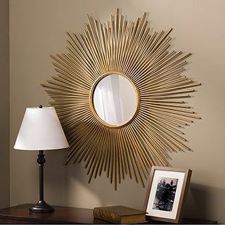 Lambert Contemporary Round Accent Wall Mirror
