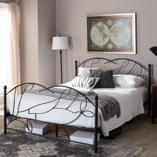 Osborne Vintage Inspired Tree Antique Bronze Metal Platform Bed