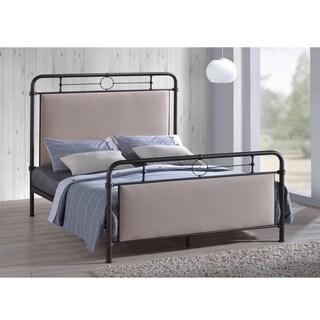 Ginger Vintage Inspired Metal Platform Bed