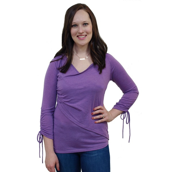 Women's Studio Hood Wrap Top