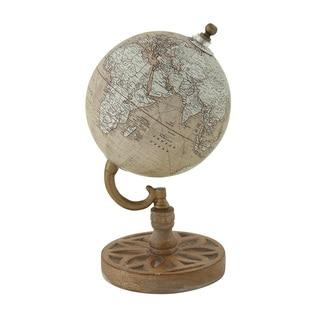 Wood Metal PVC Globe
