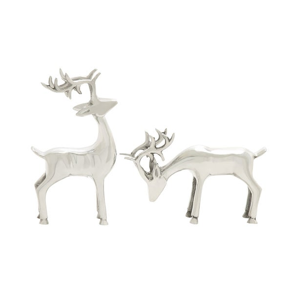 Simply Awesome Aluminum Deer Set of 2