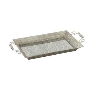 Striking Metal Mirror Tray