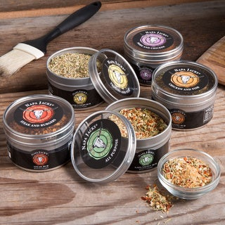 Napa Jack's Rub Sampler (Set of 5)