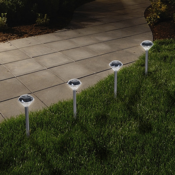 solar garden lights outdoor lamp led yard landscape