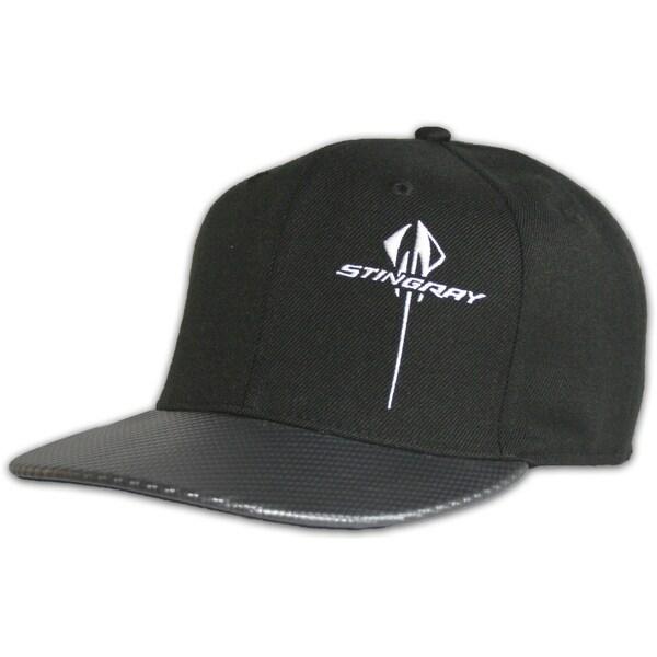 Chevy Corvette Stiingray Vertical Snapback Hat