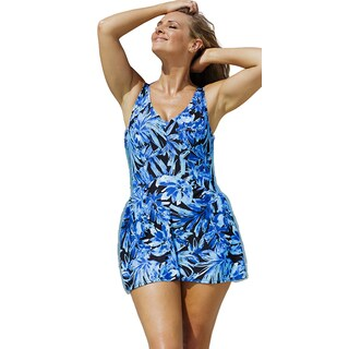 Beach Belle Women's Islander V-Neck Swimdress