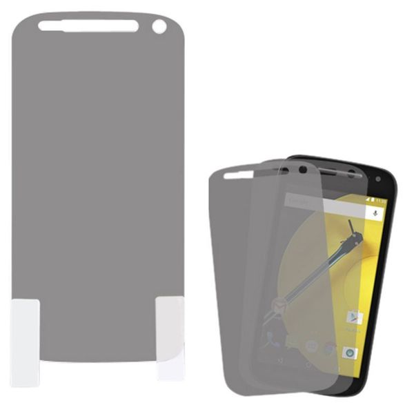 Insten Clear LCD Screen Protector Film Cover For Motorola Moto E 2nd Gen (Pack of 2)