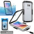 Insten Hard Snap-on Waterproof Phone Case Cover Lanyard For Samsung Galaxy S6/ S6 Edge