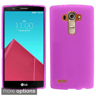 Insten TPU Rubber Candy Skin Phone Case Cover For LG G4