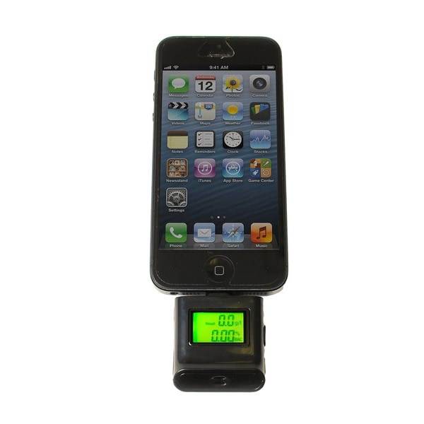 Alcohol Tester/ Breathalyzer for iPhone and iPad